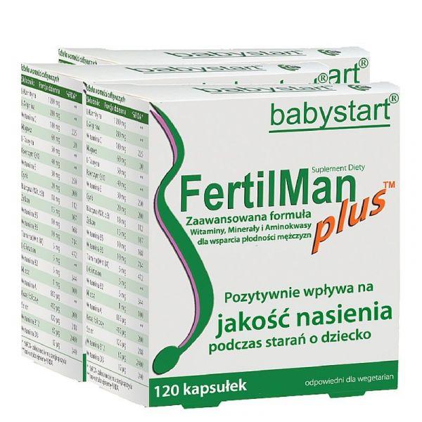FertilMan Plus: 3-miesięczna kuracja