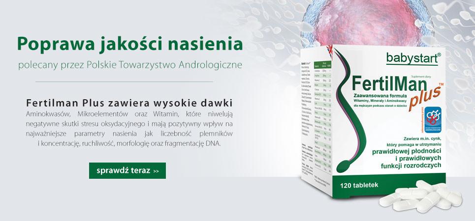 FertilMan Plus na poprawę jakości nasienia